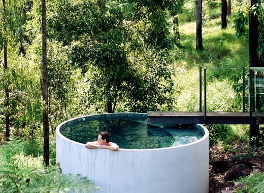Small Backyard Jacuzzi Ideas : 29 Small Plunge Pools to Suit Any Sized Backyard (and Budget)