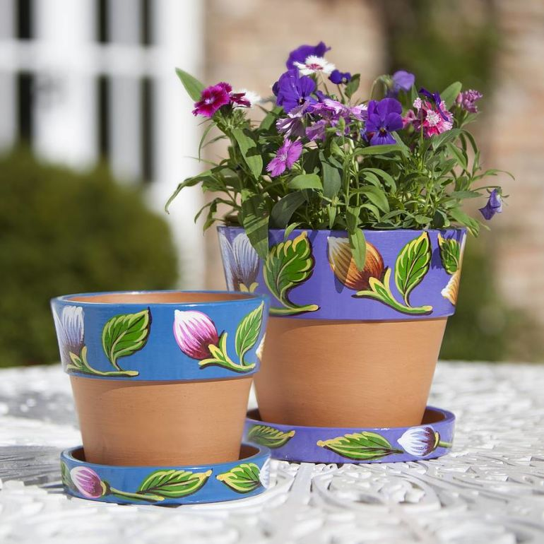 14 Summer-inspired Flower Pots