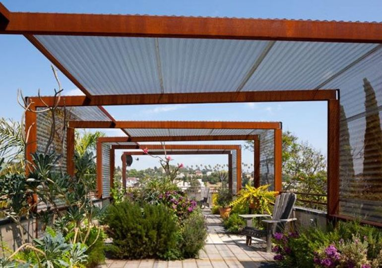 19 ideas for your new shade structure for Steel shade structure design