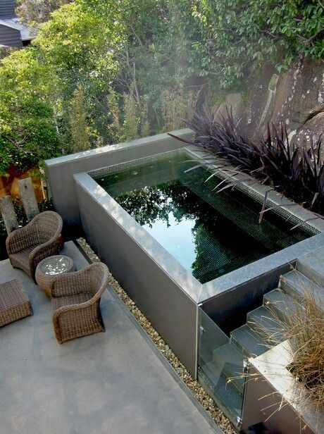 how to make a small garden pool