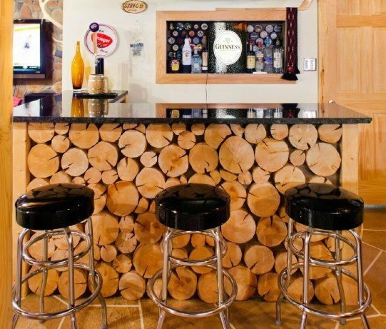 Man Cave Bar Counters : Manly ideas for your man cave